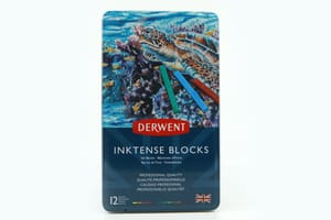 12 Derwent Inktense Blocks