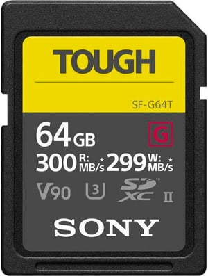 SF-G Tough SDXC UHS-II 64GB 300MB/s