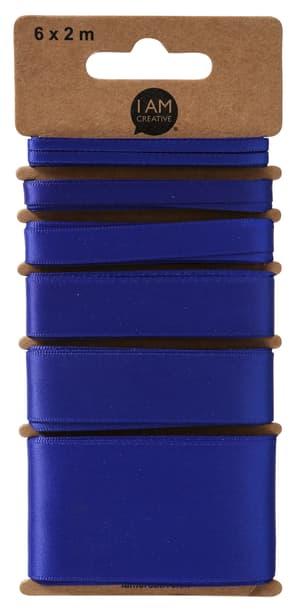 Nastro Di Raso, Blu, 6 x 2 m