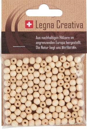 Sfere di legno 6mm laccate 125 pz