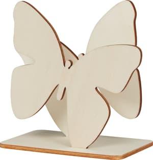Servitettenhalter Schmetterling