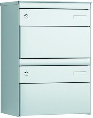 2x Boites aux lettres S:13 RAL9006/9006