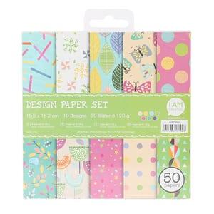 Paper Set IV,15.2X15.2CM, 50 Blatt
