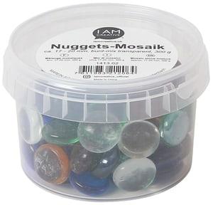 Mosaiksteine, Nuggets, 300 g, Bunt Mix, 17-20 mm