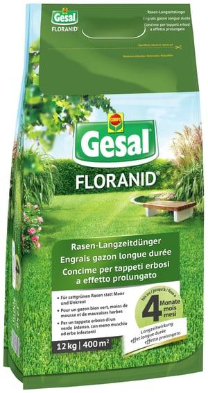 FLORANID Concime per tappeti erbosi a effetto prolungato, 12 kg