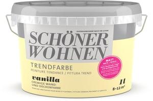 Trend Wandfarbe matt Vanilla 1 l
