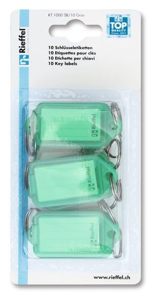 Etichette verde, 10 pezzi