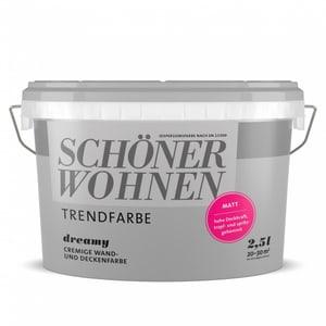 Trendfarbe Matt  Dreamy 2.5 l