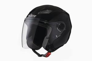Top Moto Casco Jet con visiera
