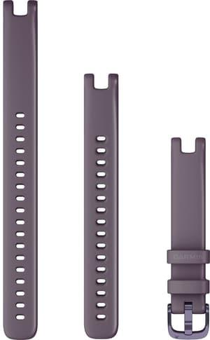 Lily bracelet 14mm silicone baies sauvages avec des parties en violet violet