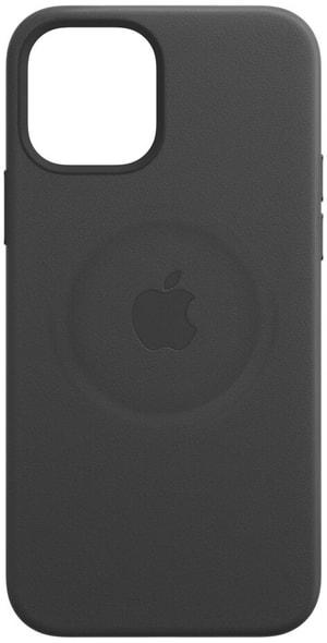 Leather MagSafe iPhone 12 / 12 Pro schwarz
