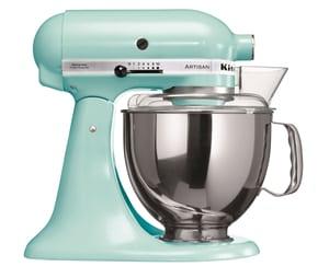 Kitchen Aid KSM 150 Küchenmaschine Eisblau