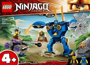 Ninjago 71740 L'Électrorobot De Jay