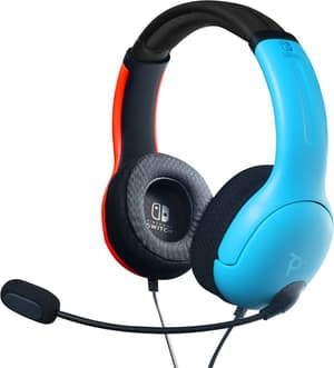 LVL40 Wired Headset Blau/Rot für Nintendo Switch
