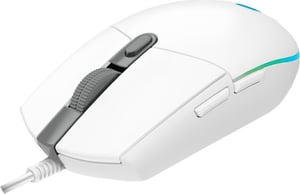 G203 LIGHTSYNC Gaming Maus white