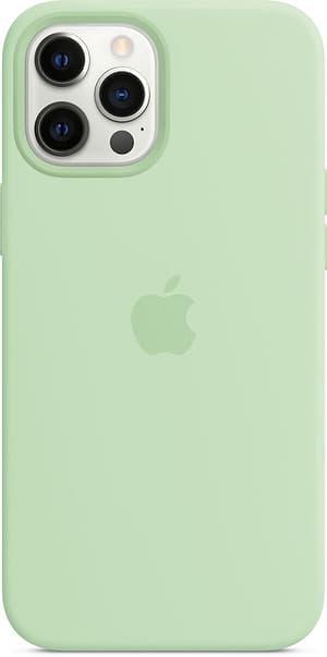 iPhone 12 Pro Max Silicone Case MagSafe Pistachio