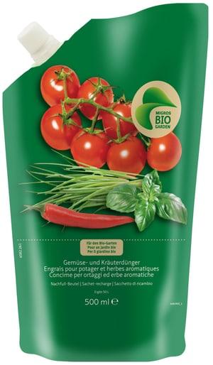 Gemüse- und Kräuterdünger Nachfüller, 500 ml