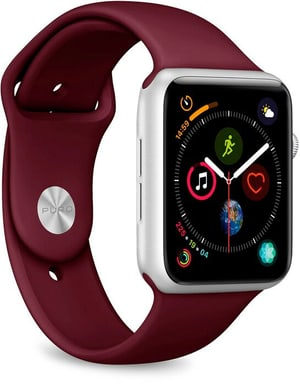 Icon Silicone Band - Apple Watch 42-44mm - bordeaux