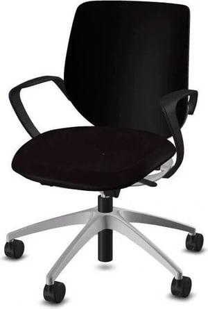 Chaise bureau 313-4039 C2C 313-4039 C2C noir, avec accoudoir