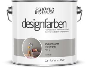 Designfarbe Dynamisches Platingrau 2,5 l