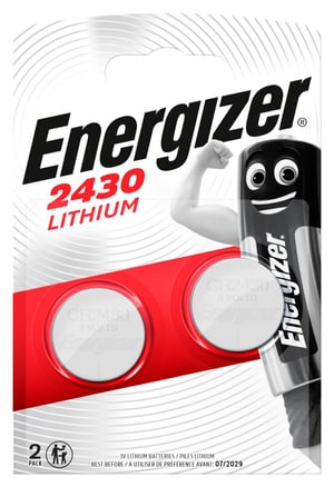 Lithium CR2430/3 V 2 stk.