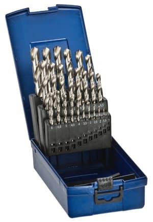 Silver HSS Spiralbohrer Set, 1-13 mm, 25-tlg.