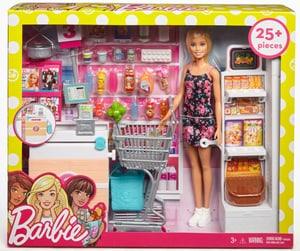 Barbie Supermarché avec Poupee