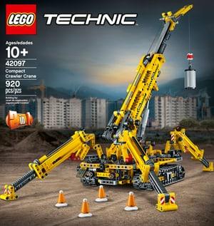 TECHNIC 42097 La grue araignée