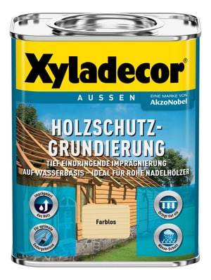 Holzschutzgrundierung, Wasserlöslich  750 ml