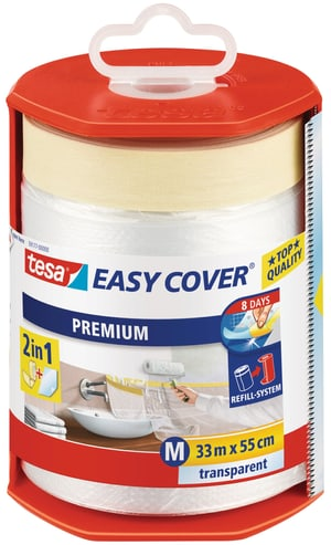 Easy Cover® PREMIUM Film - M, Abroller gefüllt mit 33m:550mm