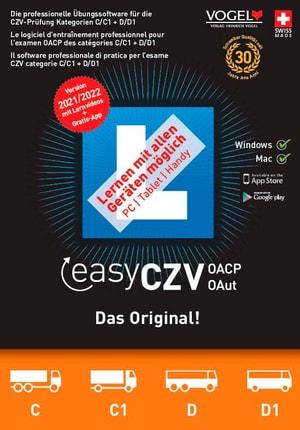 easyCZV 2021/22 [Kat. C/C1/D/D1] [PC/Mac] (D/F/I)
