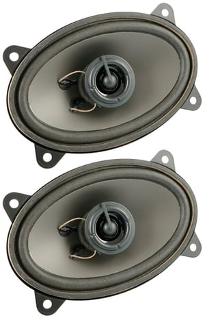 1 Paar Lautsprecher oval 90x150mm 60W