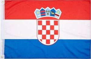 Kroatien Länderfahne