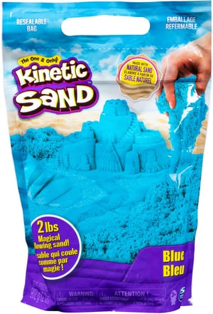Kinetic Sand blau