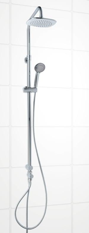 Sistema di doccia Pandora cromato