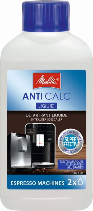 Anti Calc détartrant liquide pour machines espresso automatiques