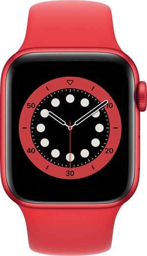 Watch Series 6 LTE 40mm Red Aluminium Red Sport Band