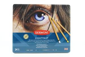 24 matite Derwent Lightfast