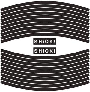 Foglio con set di adesivi riflettenti SHIOK!