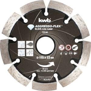 Disques à tronçonner DIAMANT Black-Line, ø 115 mm