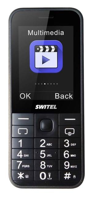 Budget Phone 67 Switel M105 noir