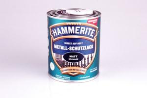 Pittura per metalli opaco nero 750 ml