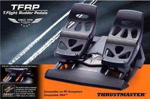 TFRP T. Flight Rudder Pedals