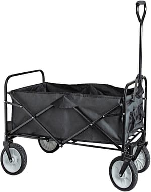 Chariot pliable avec manche