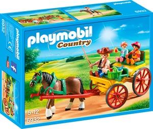 Country Calesse con cavallo 6932