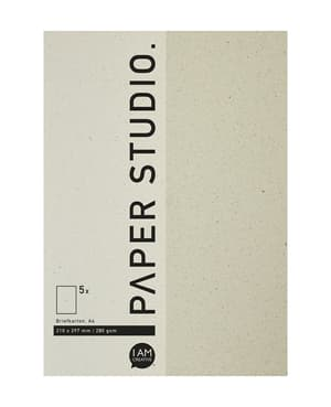 Briefkarton 210 x 297 mm (A4), Naturpapier