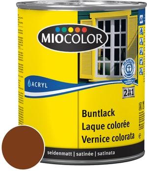 Acryl Buntlack seidenmatt Nussbraun 750 ml