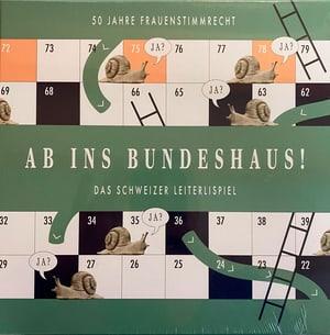 Schweizer Leiterlispiel «Ab ins Bundeshaus» (DE)