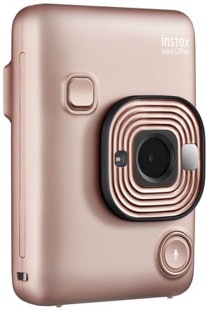 Instax Mini LiPlay Blush Gold