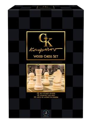 Kasparvo Wood Chess Set